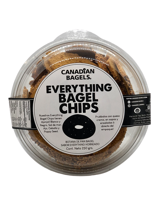 Everything Bagel Chips 250grs