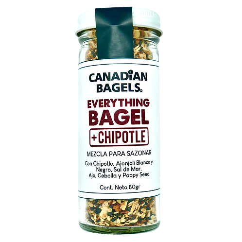 Everything Bagel Seasoning + Chipotle