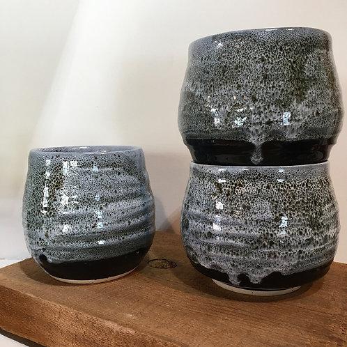 Smokey Glaze Wine Tumblers