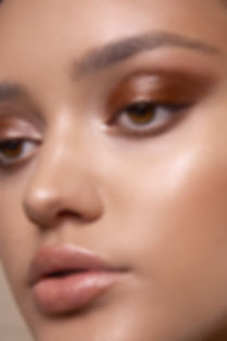 Bronze smokey eye makeup in Hobart