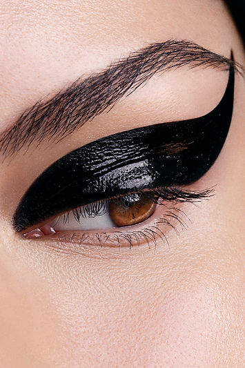 Black cat eye makeup Australia