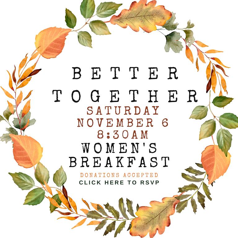 Better Together Women's Breakfast