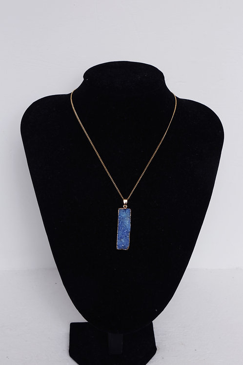 Agate Gold Plated Necklace