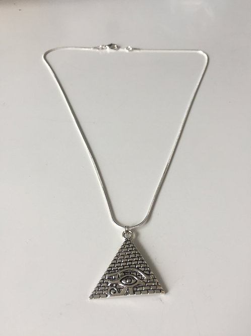 Pyramid Eye of Horus Pendant