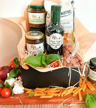 Sicilian Basil Pesto Pasta Recipe Box