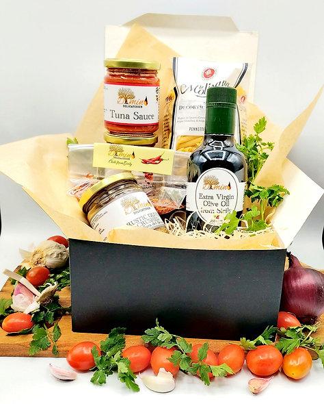 Sicilian Tuna Sauce Pasta Recipe Box