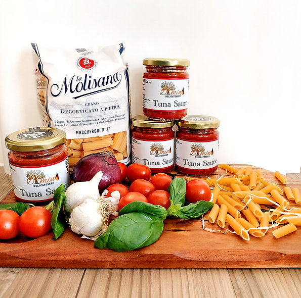 Dimino Sicilian Tuna Sauce. Set of 4 Jars