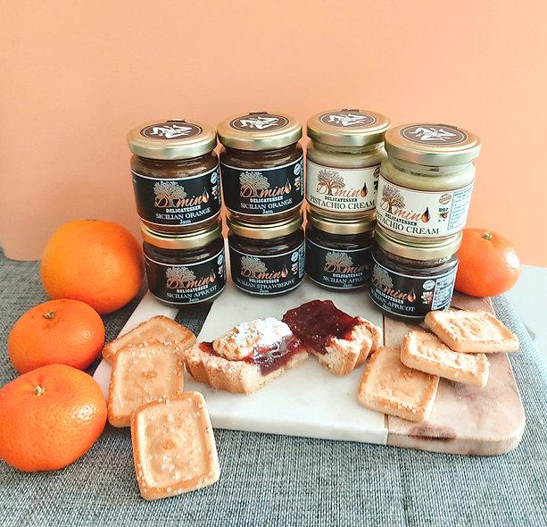 Set of Sicilian Jams - 8 Jars