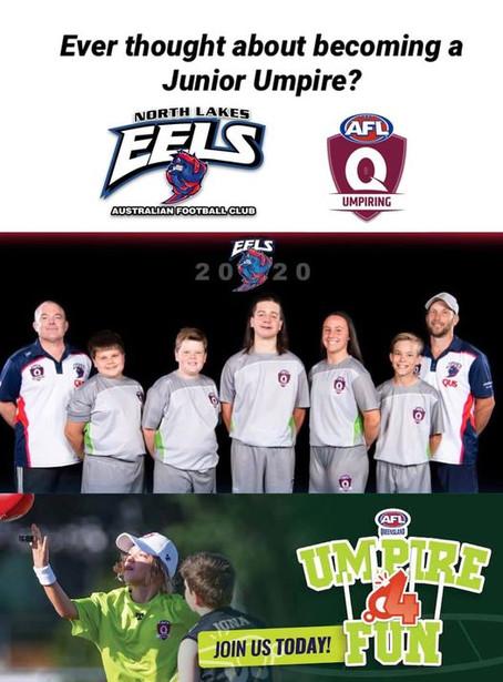 Northlakes EELS umpiring program