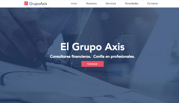 Ver todas las plantillas website templates – Consultora Financiera