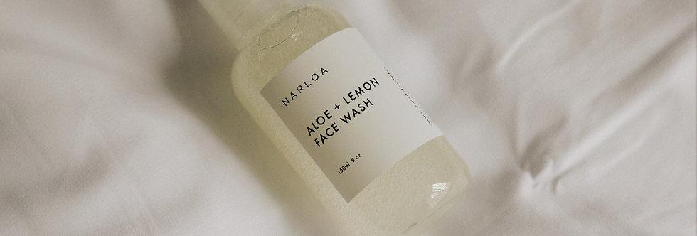 Aloe + Lemon Face Wash