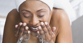 Wash your face for a full 60 seconds