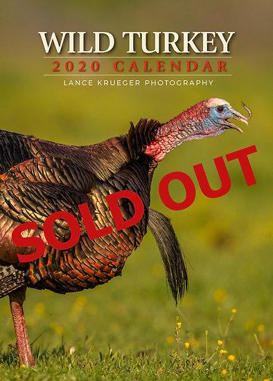 WILD TURKEY 2020 Calendar