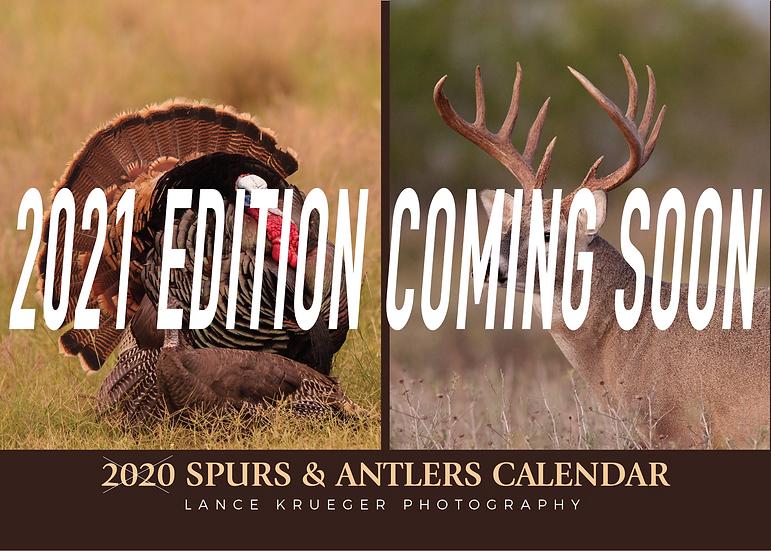 2021 SPURS & ANTLERS Calendar