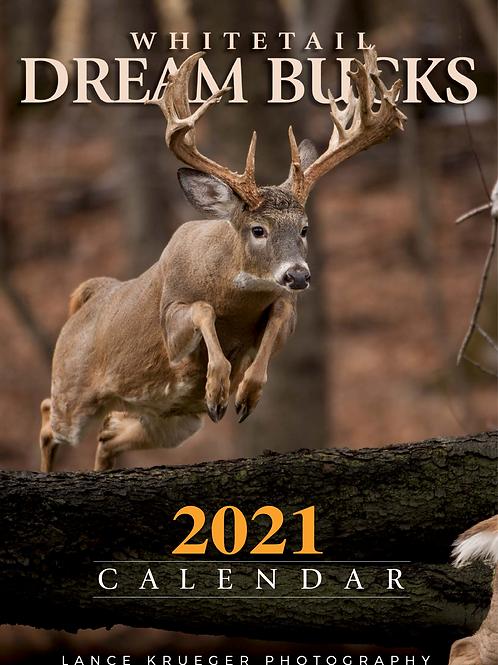 WHITETAIL DREAM BUCKS 2021 Calendar
