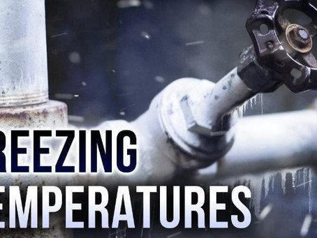 Cold Temps Bring Frozen Pipes