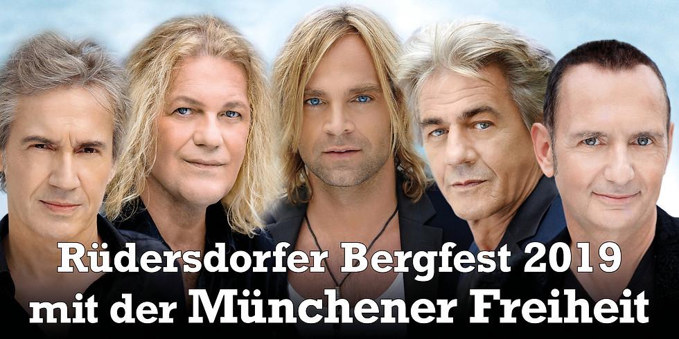 Rüdersdorfer Bergfest 2019 mit der Münchener Freiheit