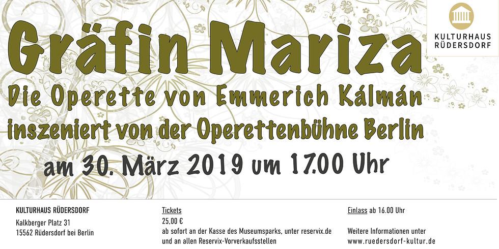 "Operette ""Gräfin Mariza"""