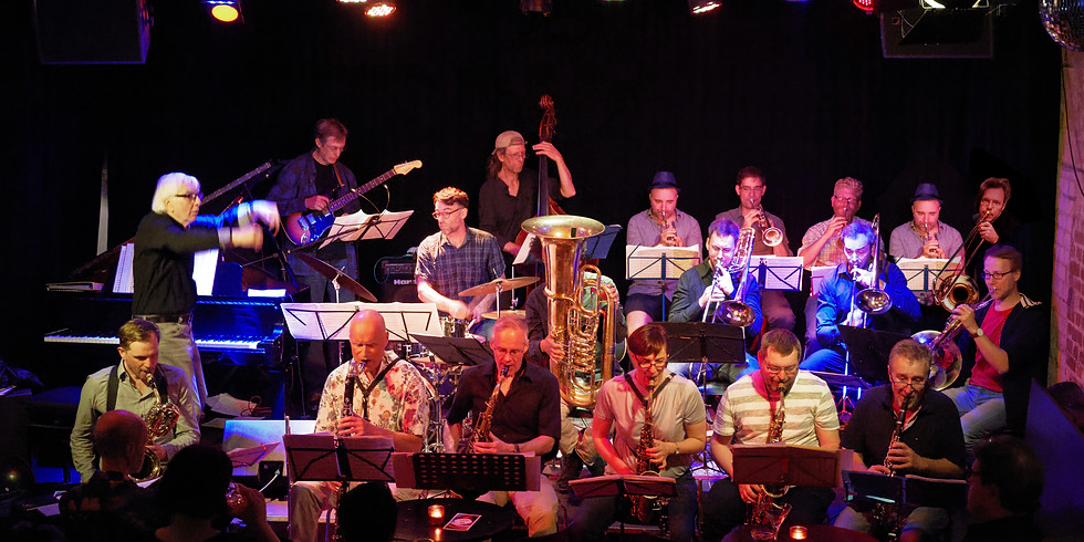 Hannes Zerbe Jazz Orchester - Konzert INDUSTRIEKULTUR
