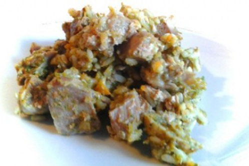 Baked Pork With Apples