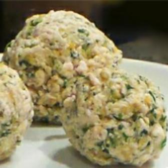 Chicken Polenta Meatballs