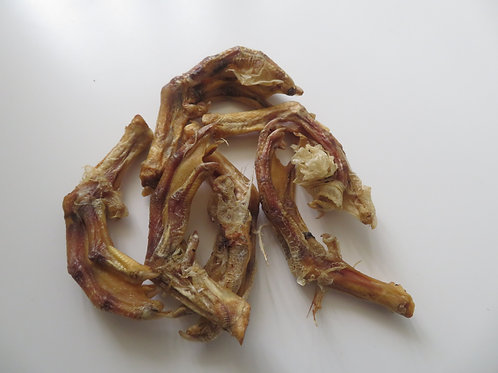10 Pack of Duck Feet