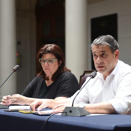Misión de solidaridad de Fundación para la Democracia en Chile