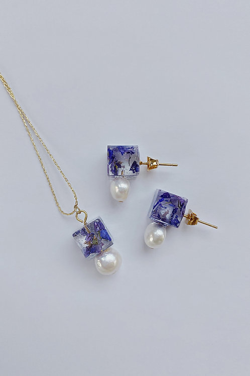 Eunoia Jewlery Set -Purple