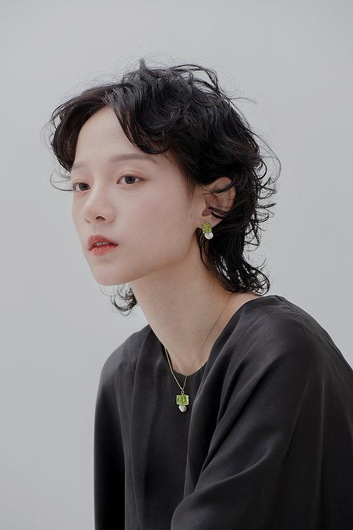Eunoia Earrings-Green