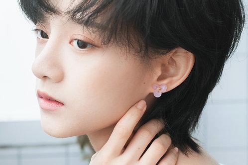 Love Earrings-Pink