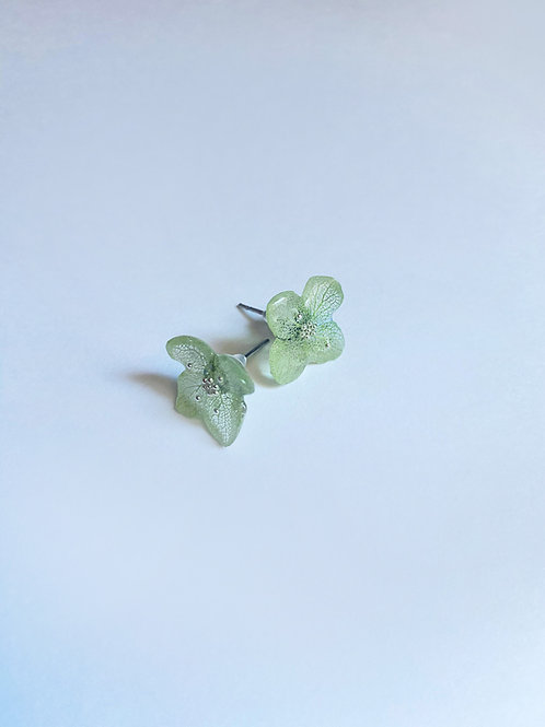Love Earrings -Ice Green
