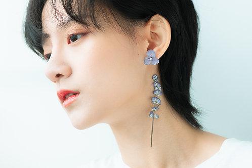 Love Earrings-Powder Blue