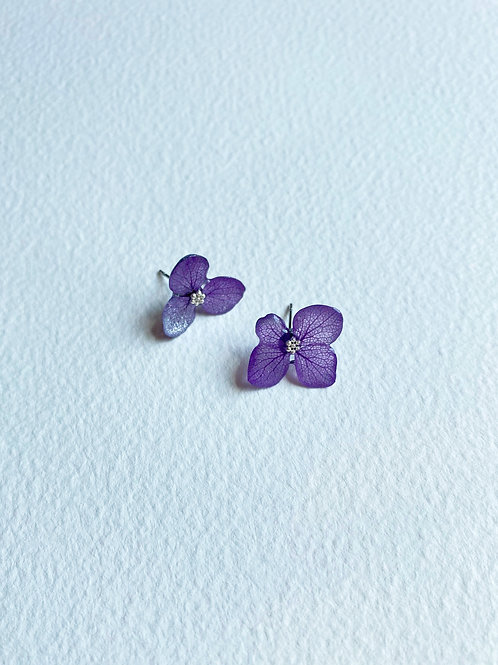 Love Earrings-Violet