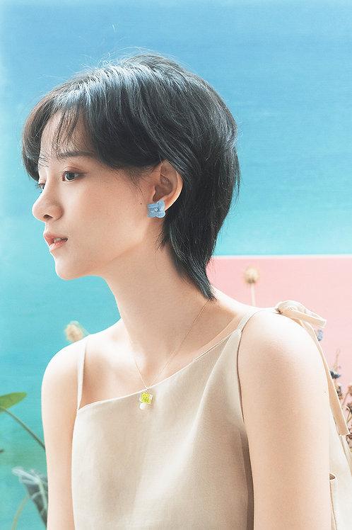 Love Earrings-Sky Blue