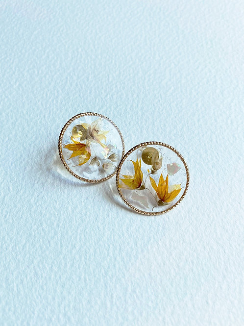 Aura Earrings-Autumn Harvest