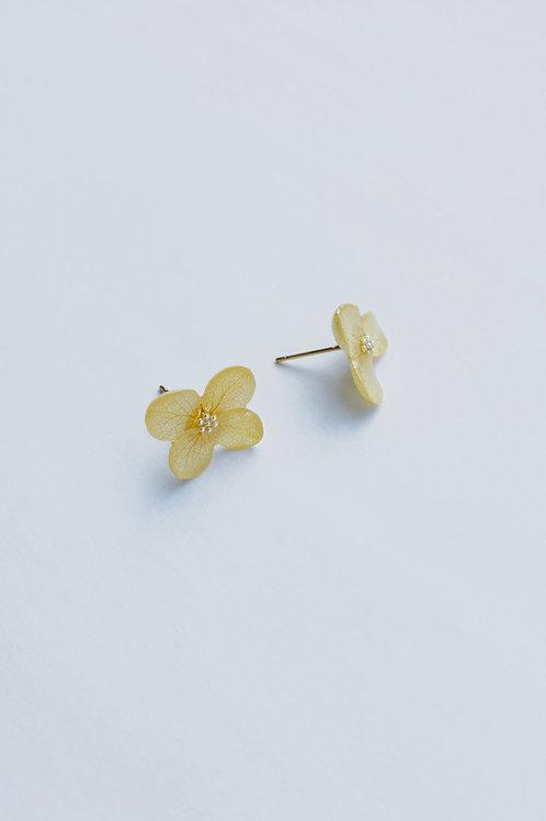 Love Earrings-Light Yellow