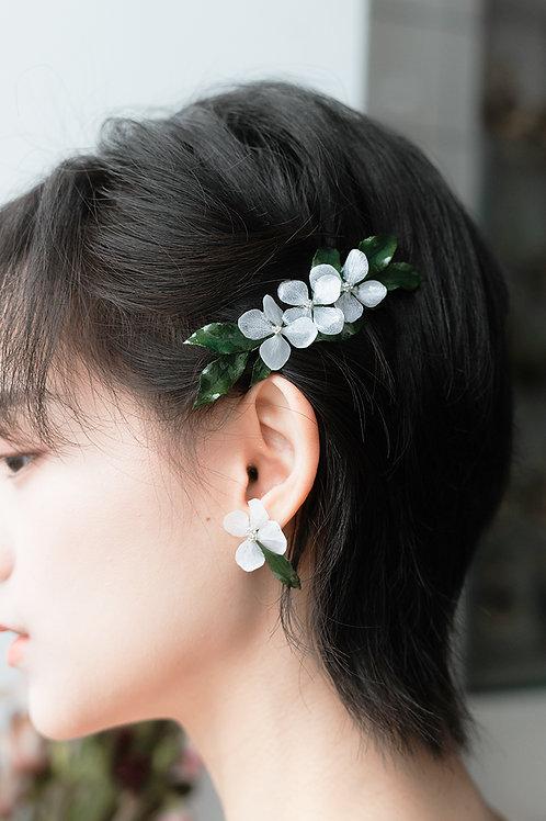 White June Earrings
