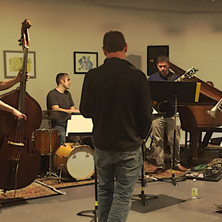 Ben Allison OBB Small Group Rehearsal