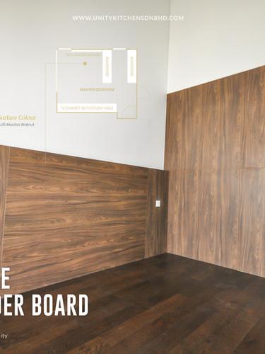 Melamine Bed Header Board