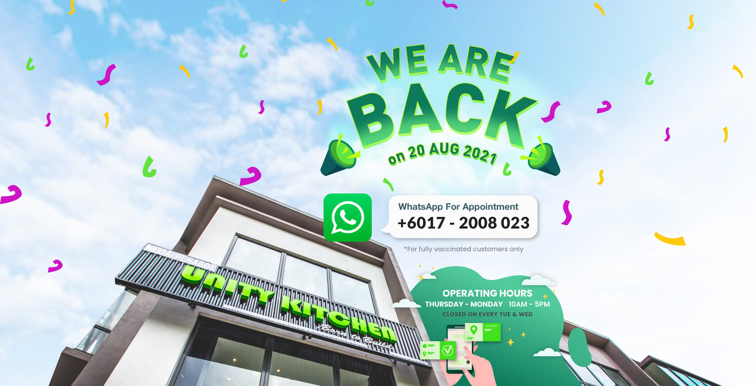 We Are Back On 20 Aug 2021!