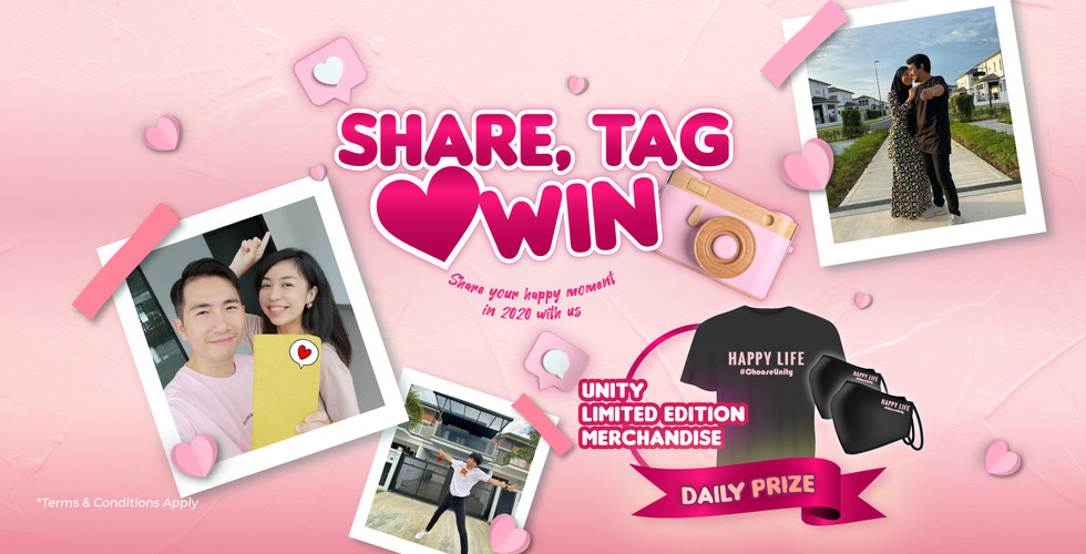 Happy Life Share, Tag & Win