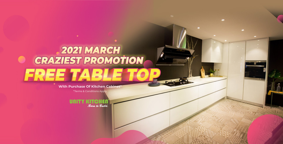 Free Table Top Promotion
