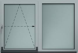 sklápacie-posuvné okno