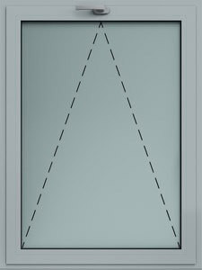 sklápacie okno