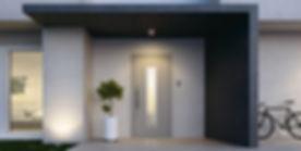 hliníkové dvere ALUHAUS