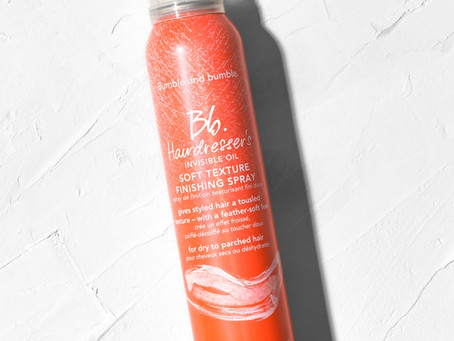 Hairdresser's Invisible Oil Soft Texture Finishing Spray Review