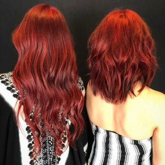 Orlando Red Hair Color