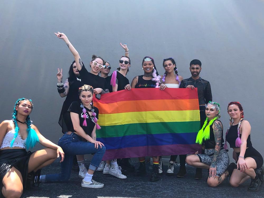 Orlando Pride 2019 Festival Hairstyles
