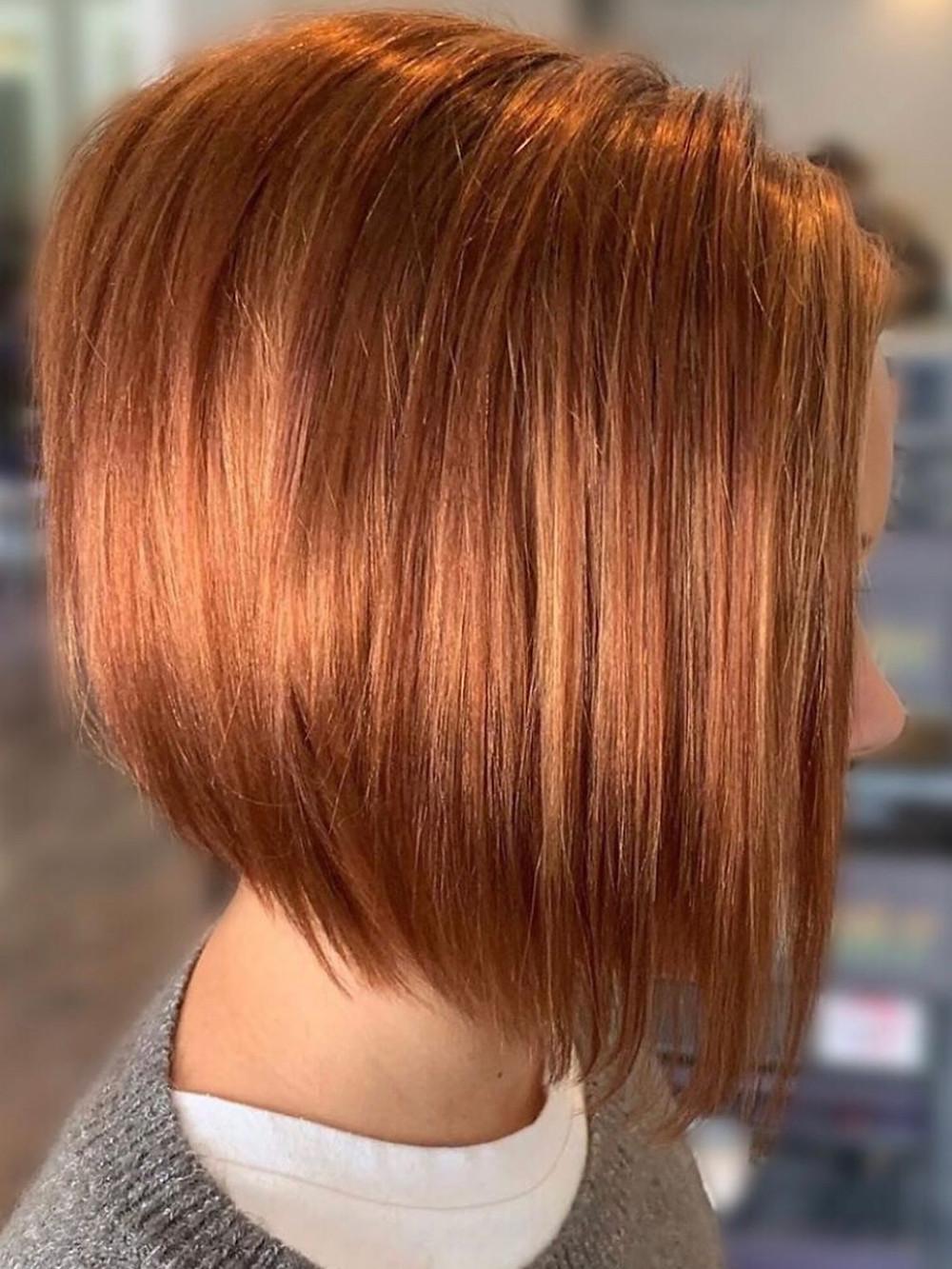 Ginger Copper Hair