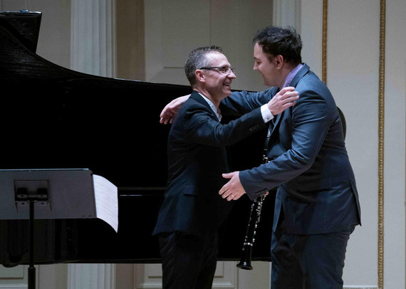 Ater the premiere of Halny Fantasy, Carnegie Hall, November 2019, NY